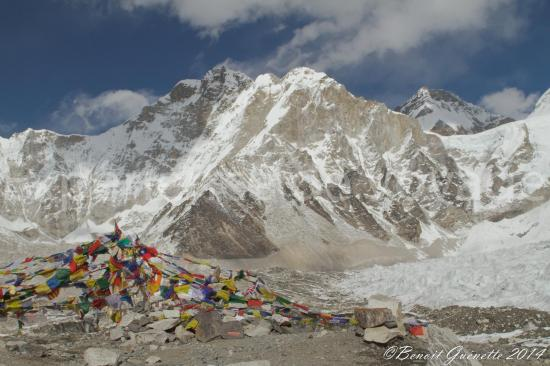 Camp de base de l'Everest